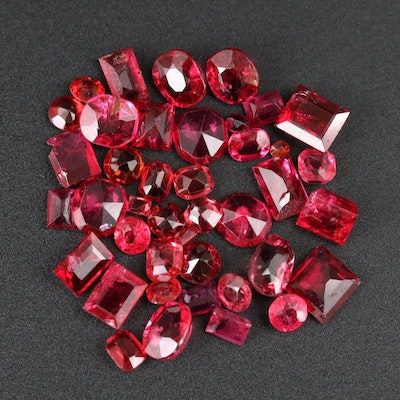 Loose 11.85 CTW Ruby Gemstone Selection