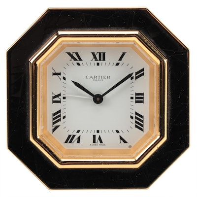 Cartier Desk Alarm Clock, 1990-2000