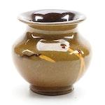 Roseville Pottery Rozane Ware Match Vase, Early 20th Century