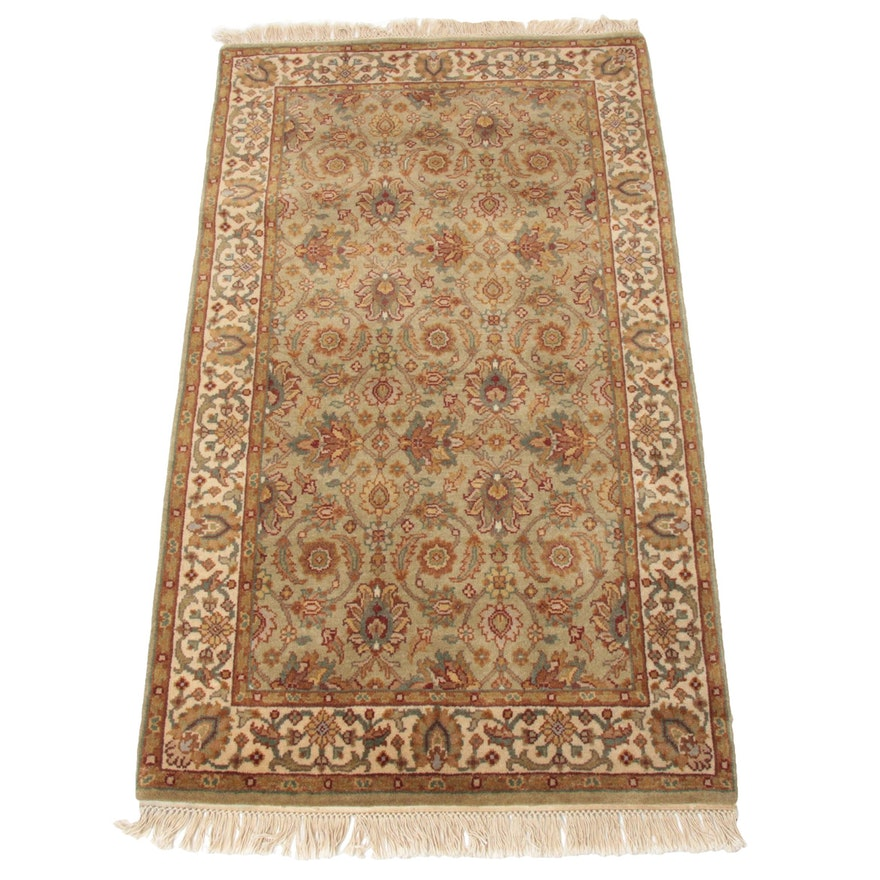 3'0 x 5'8 Hand-Knotted Indo-Persian Tabriz Rug, 2000s
