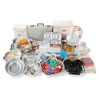 Character Cake Pans, Cake Decorating Supplies, and More