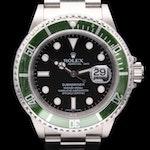 """Rolex Submariner """"Kermit"""" 50th Anniversary Stainless Steel Wristwatch, 2007"""