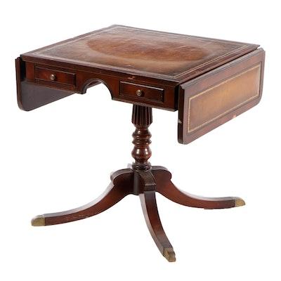 Regency Style Mahogany Sofa Table, circa 1950