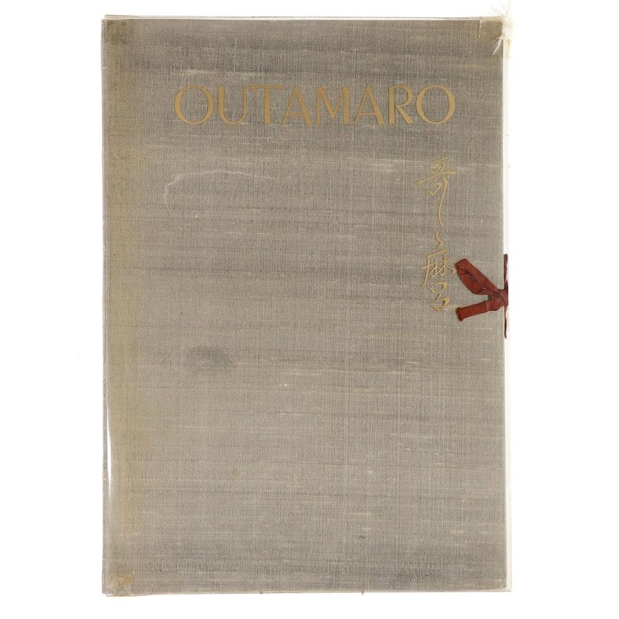 """""""Outamaro"""" Portfolio of Lithographs after Kitagawa Utamaro, 1955"""