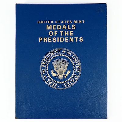 """""""United States Mint Medals of the Presidents"""" Album Set"""