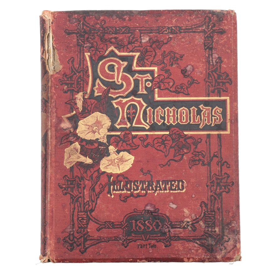 "1880 ""St. Nicholas: For Girls and Boys"" Vol. VII Part II Edited by Mary M. Dodge"