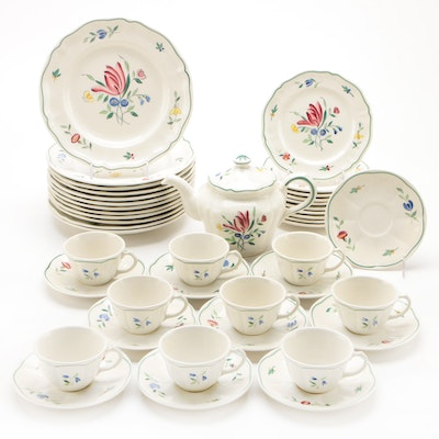 "Longchamp ""Tulip"" Ceramic Dinnerware"