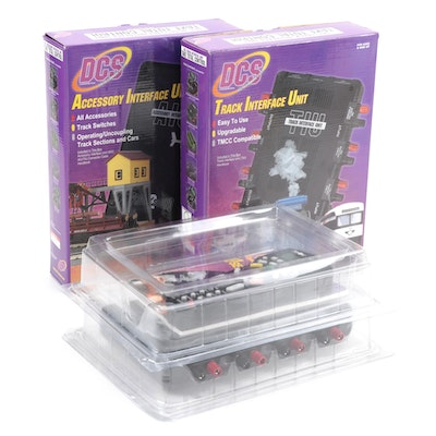 DCS Track and Accessory Interface Units in Original Packaging