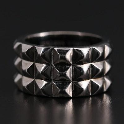 Stephen Webster Sterling Silver Super Stud Ring