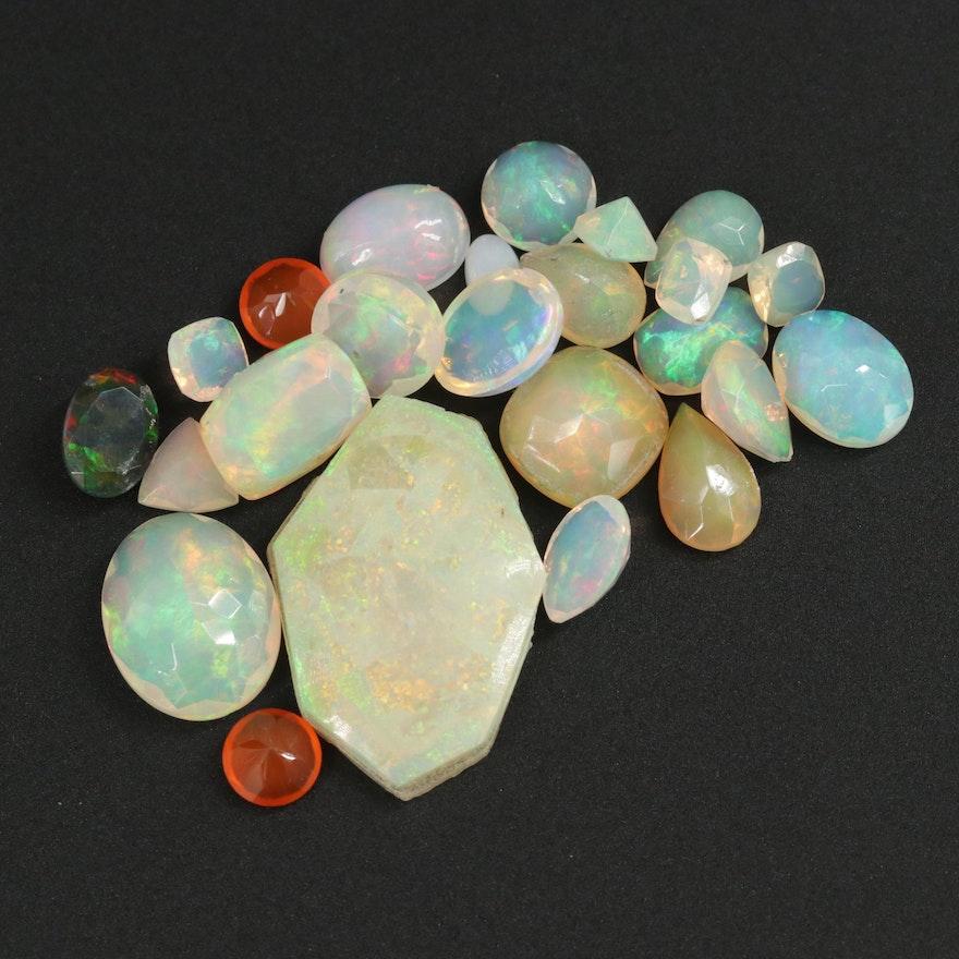 Loose 18.40 CTW Opal Gemstones