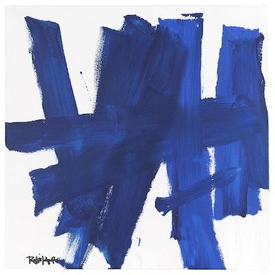 "Robbie Kemper Acrylic Painting ""4052-ish"""