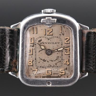 Vintage Chevrolet Service Award Wristwatch, Circa 1927