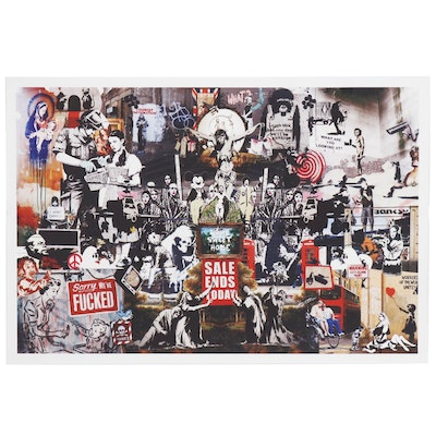 Giclée Collage after Banksy