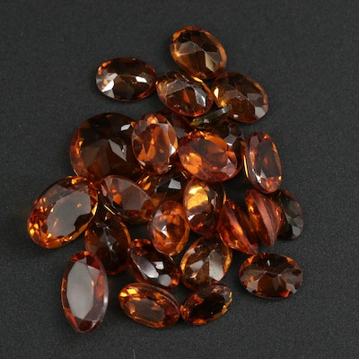 Loose 26.10 CTW Citrine Gemstones