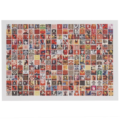 Giclée Collage after Shepard Fairey