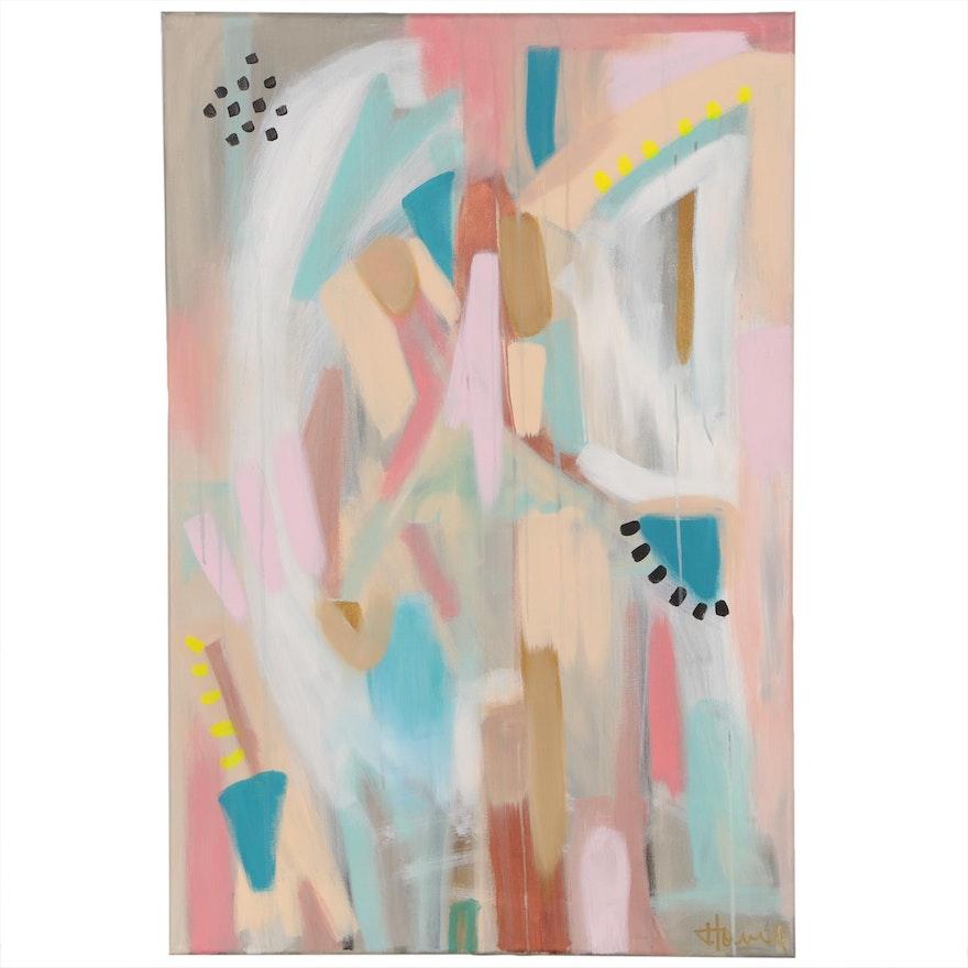 Jordan Howell Abstract Acrylic Painting