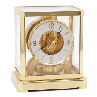 "Jaeger-LeCoultre ""Atmos"" Self-Winding Perpetual Motion Mantel Clock"