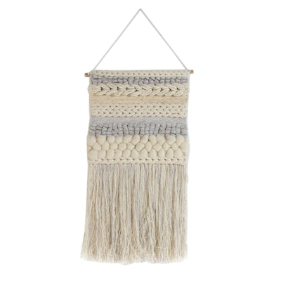 Woven Wool Textile Wall Hanging
