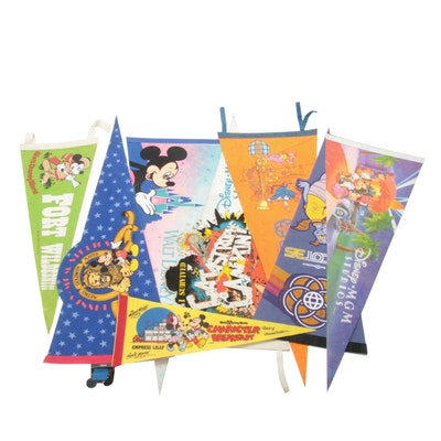 Disney Theme Park Pennants