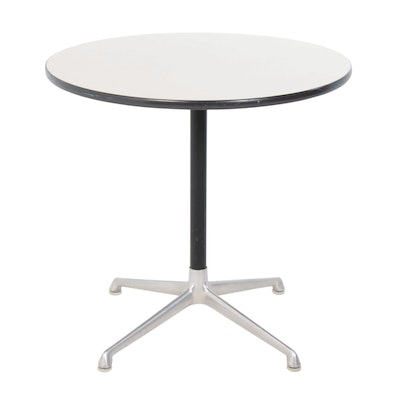 Herman Miller Laminate Round Top Office Table