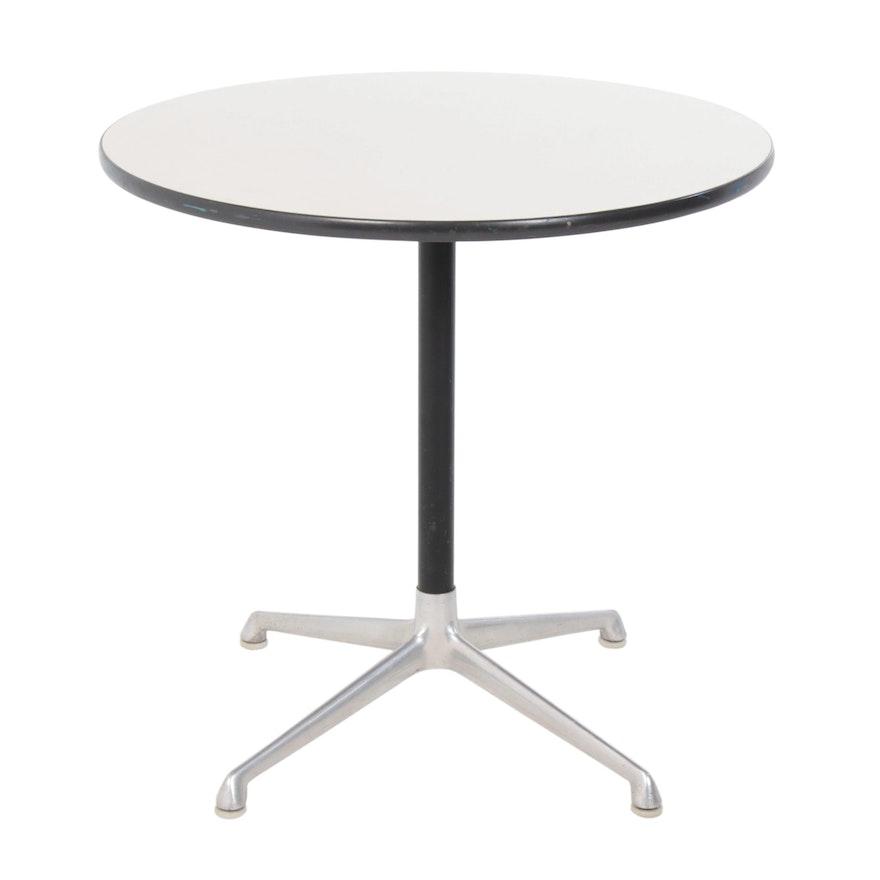 Herman Miller Laminate Round Top Office Table