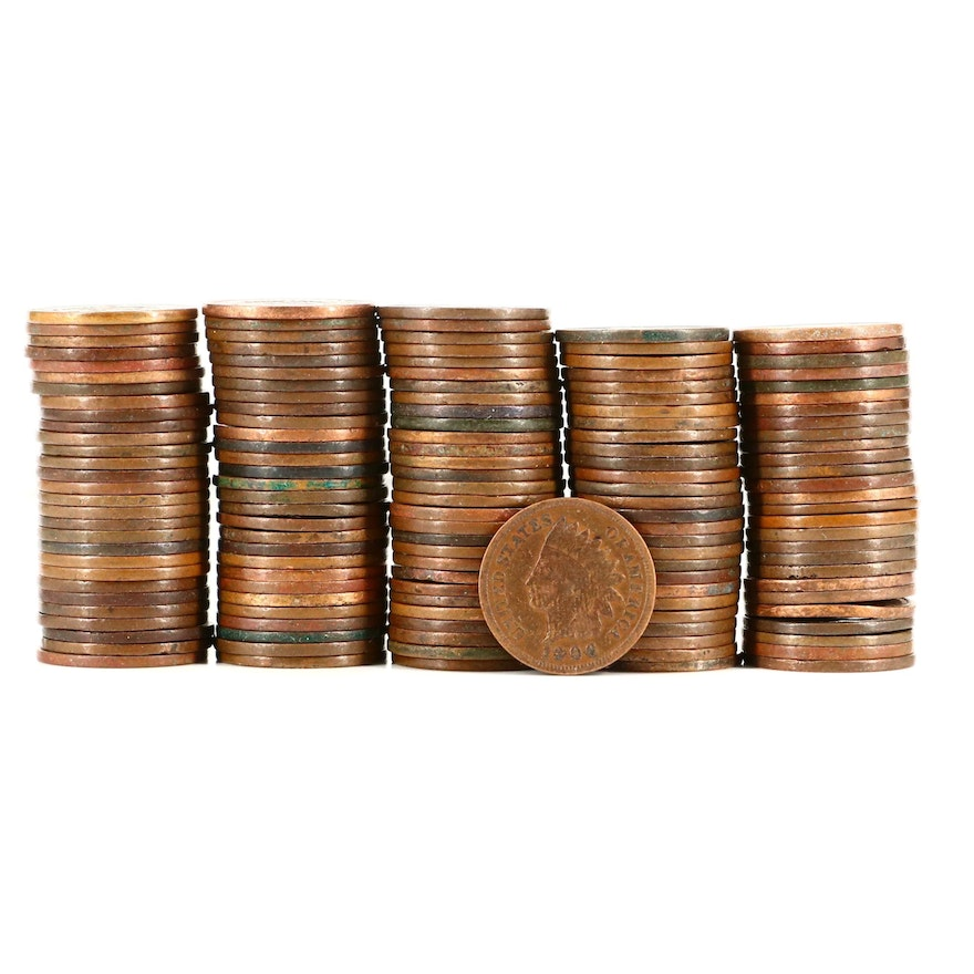 143 Indian Head Cents