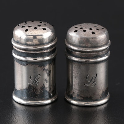 Gorham Sterling Silver Salt and Pepper Shakers, Early 20th Century