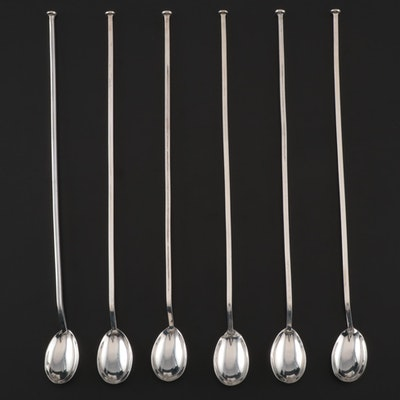 Plat-Mex S.A. Sterling Silver Stirrer Spoons, Mid-Century