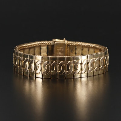 Vintage Fancy Link Bracelet