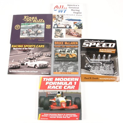 "Signed ""King of the Hills"" with ""Offy America's Greatest Racing Engine"" and More"