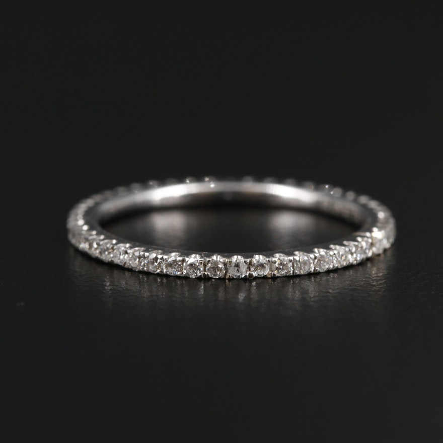 Rayalty 18K White Gold Diamond Eternity Band