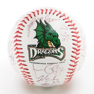 Dayton Dragons Signed Logo Baseball