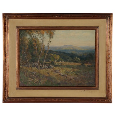 "Frederick Ballard Williams Oil Painting ""Sun and Shadow"""