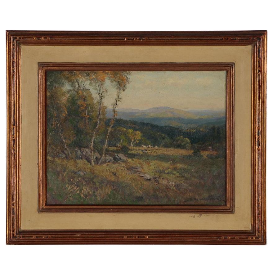 "Frederick Ballard Williams Oil Painting ""Sun and Shadow"""