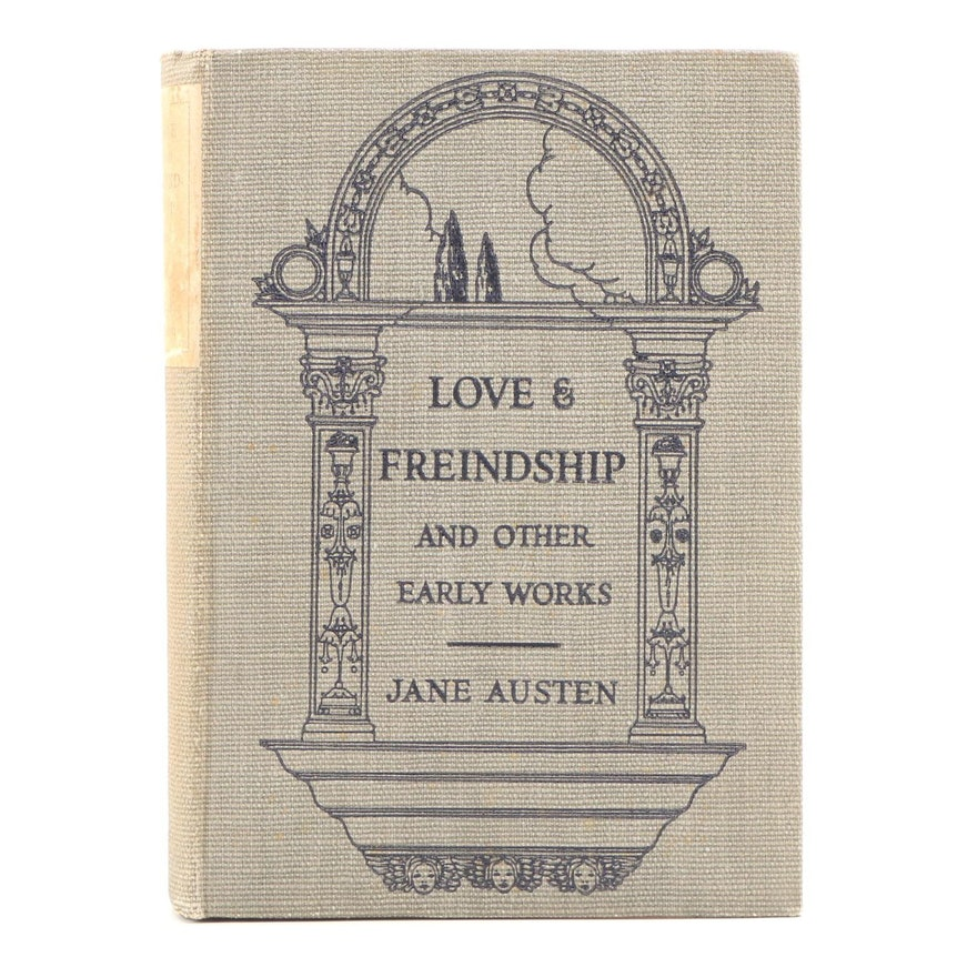 "First American Edition ""Love & Freindship and Other Early Works"" by Jane Austen"