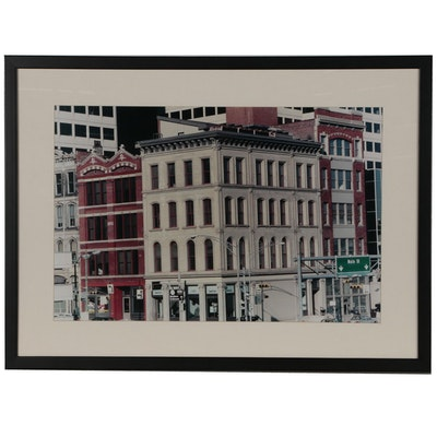 Cincinnati Architectural Chromogenic Color Photograph