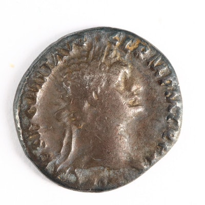 Ancient Roman Imperial AR Denarius of Domitian, ca. 90 A.D.