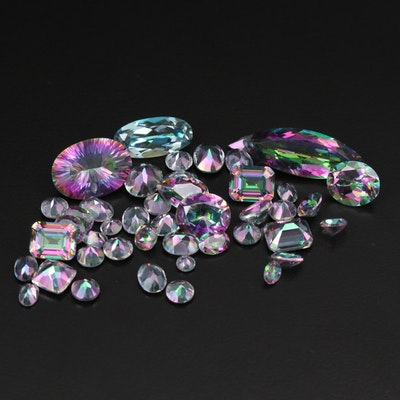 Loose 89.72 CTW Topaz Gemstones