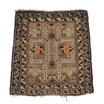 2'2 x 2'5 Hand-Knotted Southern Caucasus Wool Rug