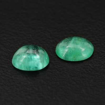 Loose 1.33 CTW Emerald Gemstones
