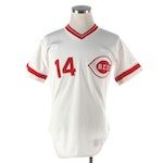 Pete Rose 1984 Set 1 Rawlings Home White Signed Jersey