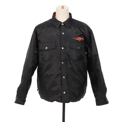Men's Harley-Davidson Reversible Nylon Road Jacket