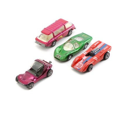 Hot Wheels and Matchbox Diecast Toy Cars