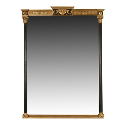 Neoclassical Style Gilt Wall Mirror, Late 20th Century