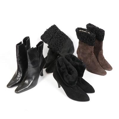 Vaneli, Jones New York and Golo Leather and Suede Booties