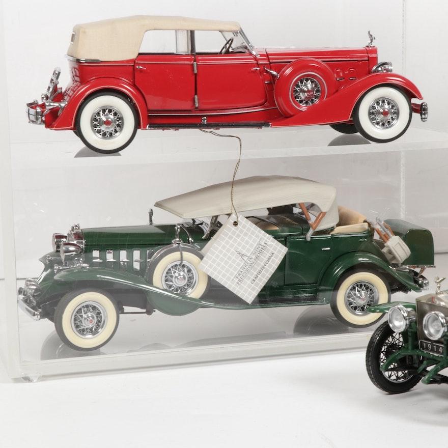 Franklin Mint Precision Models And Danbury Mint Diecast