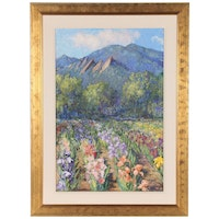 """Lillian Kennedy Oil Painting """"Perennial Spring"""""""