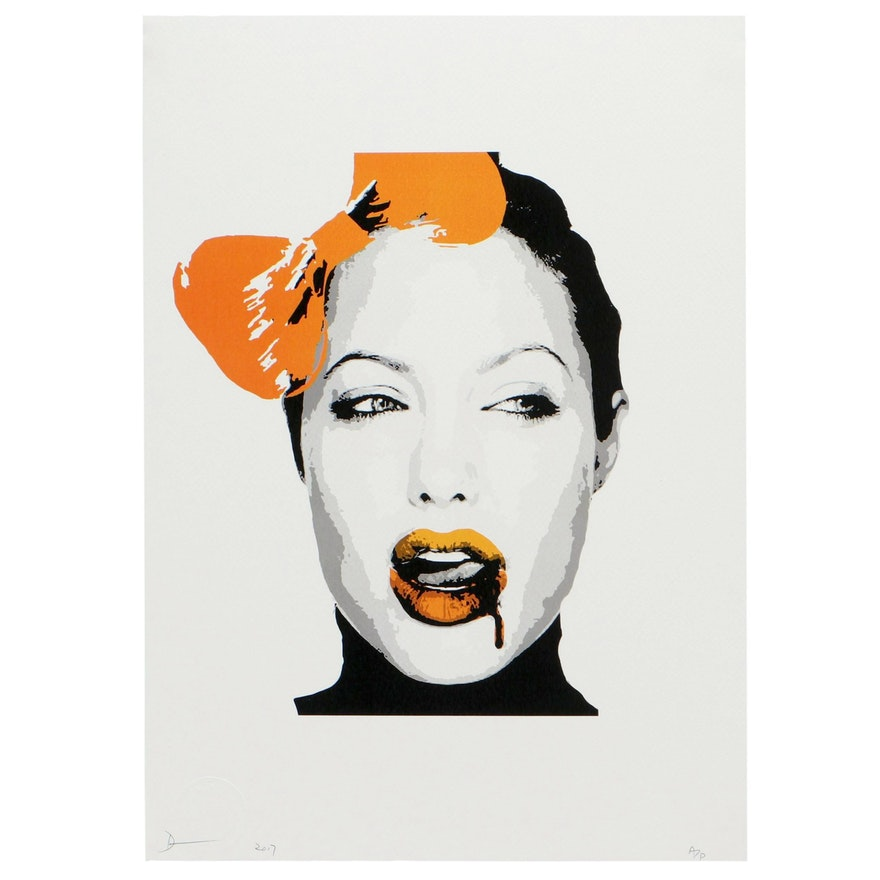 "Death NYC Offset Lithograph ""Jolie Drip"""
