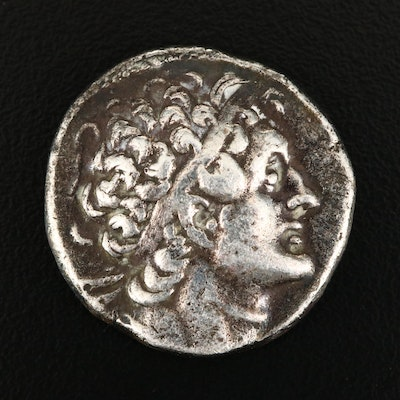Ancient Ptolemaic Egypt AR Tetradrachm of Ptolemy I, ca. 300 B.C.