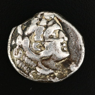 "Alexander III, ""The Great"", AR Tetradrachm Coin, ca. 323 B.C."